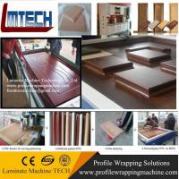 China PVC Vacuum membrane press machine for covering veneer for doors making for woodworking wit wholesale