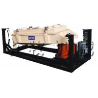 China Grading Crushing Belt Transmission Grading Rotary Screen Machine With Circular, Oval Modes wholesale