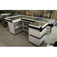 China Custom Stainless Steel Table Surface Supermarket Electric Cash Counter wholesale