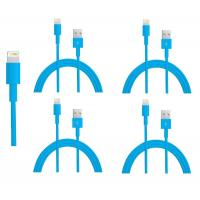 China colorful USB to 8PIN Charging and Data sync cable cord for 5 5s 5c iPod Touch 5 Blue wholesale
