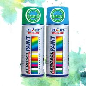 China All Purpose Acrylic Spray Paint Metallic / High Heat / Fluorescent / Hammer Application wholesale