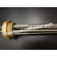 China 3 Element Industrial Tubular Heaters / Flange Immersion Heater  For Rinse Tank Heating wholesale