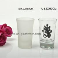China Cattelan glassware factory high quality shot glass wholesale