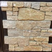 China Natural Stone Cement / Concrete Backed Stone For External Wall Cladding on sale
