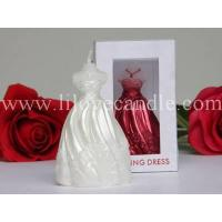 China wedding dress candle wholesale