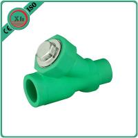 China Eco Friendly Water Filter Pipe Fittings , Durable PPR Straight Ball Valve wholesale