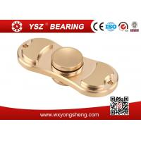 China Golden / Blue / Pink Brass Hand Spinner Fidget Toy With 608 Bearing 8*22*7mm wholesale
