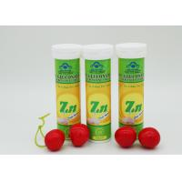 Magnesium Effervescent Tablets , Magnesium Fizzy Tablets Sweet / Sour Flavour