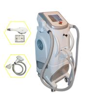 China Pain Free Shr + Ipl + Rf Semiconductor Laser Hair Removing Machine White Color wholesale
