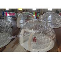 China Customized Inflatable Event Tent Strong 0.8mm PVC Clear Bubble Tent wholesale