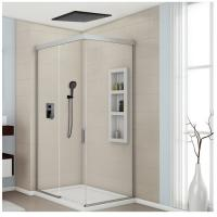 China 8-12 Inch Concealed Shower Faucet , Solid Brass Ceiling Shower Faucet Three Modes on sale