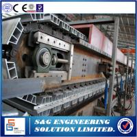 China Cut To Length Style Discontinuous PU Sandwich Panel Production Line For Cold Storage Project wholesale