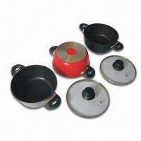 China Stock Pot, Made of Die Cast Aluminum, Round Shape, Measures 28cm on sale