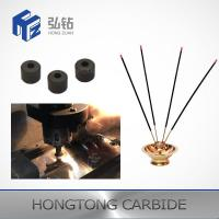 China High Hardness Tungsten Carbide Wire Die Pellets For Incense Machine Parts on sale