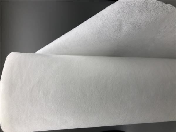 Quality Plain Style Spunlace Nonwoven Fabric Color Customised With High Strength for sale