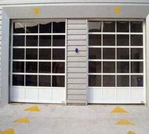 China Powder Coated Aluminum Overhead Door , Full View Aluminum Garage Doors on sale