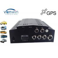 China Anti knock 4 Channel GPS Mobile DVR 1TB Storage Basic for Bus and Taxi wholesale