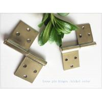 China Brass Bp Colorheavy Duty Lift Off Hinges , Lift Off Door Hinges Removable Type wholesale