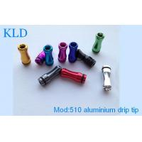 Buy cheap aluminium materies e cig accessories 510 aluminium drip tip fit  for 510 vaporizers  from wholesalers