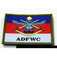 Woven Label Custom Embroidered Patches Fire Service Clothing