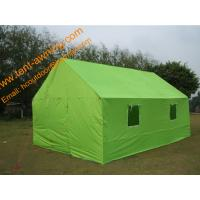 China Multifunction Emergency Refugee Steel Frame  Waterproof  Relief  Shelter Tent wholesale