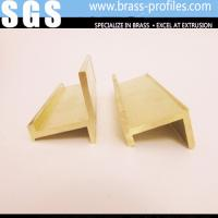 China Brass Alloys Window Shapes / Copper Furniture Window Frames H Profiles wholesale