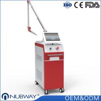 China Korea imported 7 joints guiding arm Nubway Q-switched Nd yag laser tattoo removal Anti-aging beauty machine wholesale