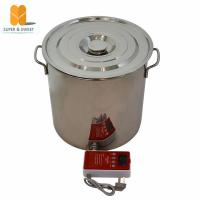 China Stainless Steel Electric bee wax melter wholesale