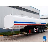 China 45000 liters ~60000liters carbon steel fuel tank semi trailer  | Titan Vehicle wholesale