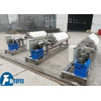 China Automatic Hydraulic Round Filter Press equipment With Round Filter Plate in Clay / Kaolin Industry wholesale