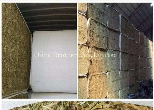 Quality White Color Hay Bale Sleeves Waterproof Tubular Woven Fabric UV Treated for sale
