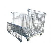 good sale collapsible wire mesh container used for PET industrial storage