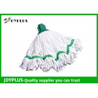China Floor Cleaning Accessories Home Cleaning Mop / Microfiber Mop Heads Withe Color on sale