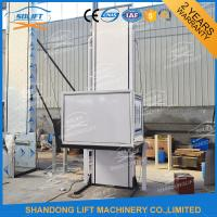 Buy cheap Hydraulic Vertical Wheelchair Platform Lift / Aluminum Alloy Patient Lifting Hoists from wholesalers