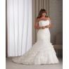 China Strapless Plus Size Bridal Wedding Dresses wholesale
