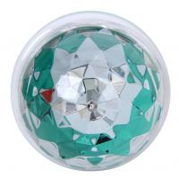 Buy cheap E27 3w RGB Disco Lighting Led Ball Bulb Rotating Home Party Disco Light from wholesalers