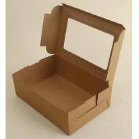 China New product printing lunch food packaging box pizza custom kraft paper boxes,kraft paper box disposable paper folding lu wholesale
