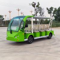 China 14 Seats Electric Sightseeing Car Golf Cart Shuttle 220v FRP Material wholesale