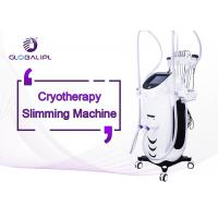 China Body Sculpting Cryolipolysis Machine Wind / Water And Semiconductor Cooling System wholesale