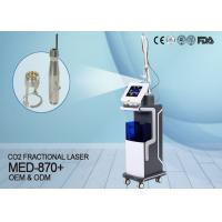 China KES Beauty Clinic Use Co2 Fractional Laser Machine For Scar Acne Removal MED-870+ wholesale