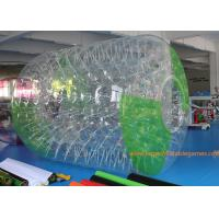 China 2.7*2.4*1.8m Adults Inflatable Water Roller Zorb Human Ball With 0.7MM TPU with CE wholesale
