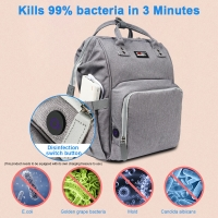 China Water Resistant Portable Mummy Diaper Bag For Baby Bottle wholesale