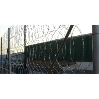 China High Tensile Security Razor Wire Fencing Sun Resistant For Railways / Highways wholesale