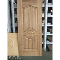 China Natural Teak Interior Door Skins , HDF Moulded Door Skin 3mm / 4mm Thickness on sale
