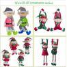 China Lovely Holiday Plush Toys Christmas Elves Dolls 20cm Size Home Decoration wholesale
