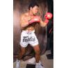 Theme Park Handmade Realistic Life Size Wax Figure of Muhammad Ali-Haj