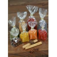 China Snack Food OPP Square / Block Bottom Bags , Side Gusset Bag wholesale