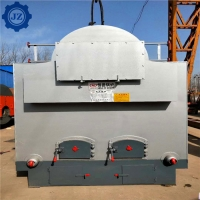 China Industrial 6 Ton Wood Chip / Coal Fired Fired Steam Boiler Used For Textiles Mill wholesale