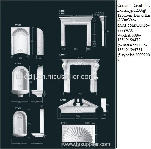 Quality Coving Series Decorative Beadings Decorative Pillars Decorative Pillars Centre Panels for sale
