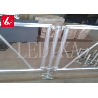 China Aluminium Frame Plywood Assembly Stage Roof Truss Customizable Anti-slip on sale